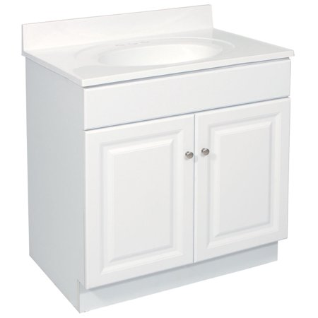 Design House 531939 Wyndham Unassembled 2 Door Vanity Without Top 24 White