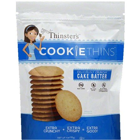 Mrs. Thinster's Cake Batter Cookie Thins, 4 oz (Pack of - Mrs Fields Halloween Cookies