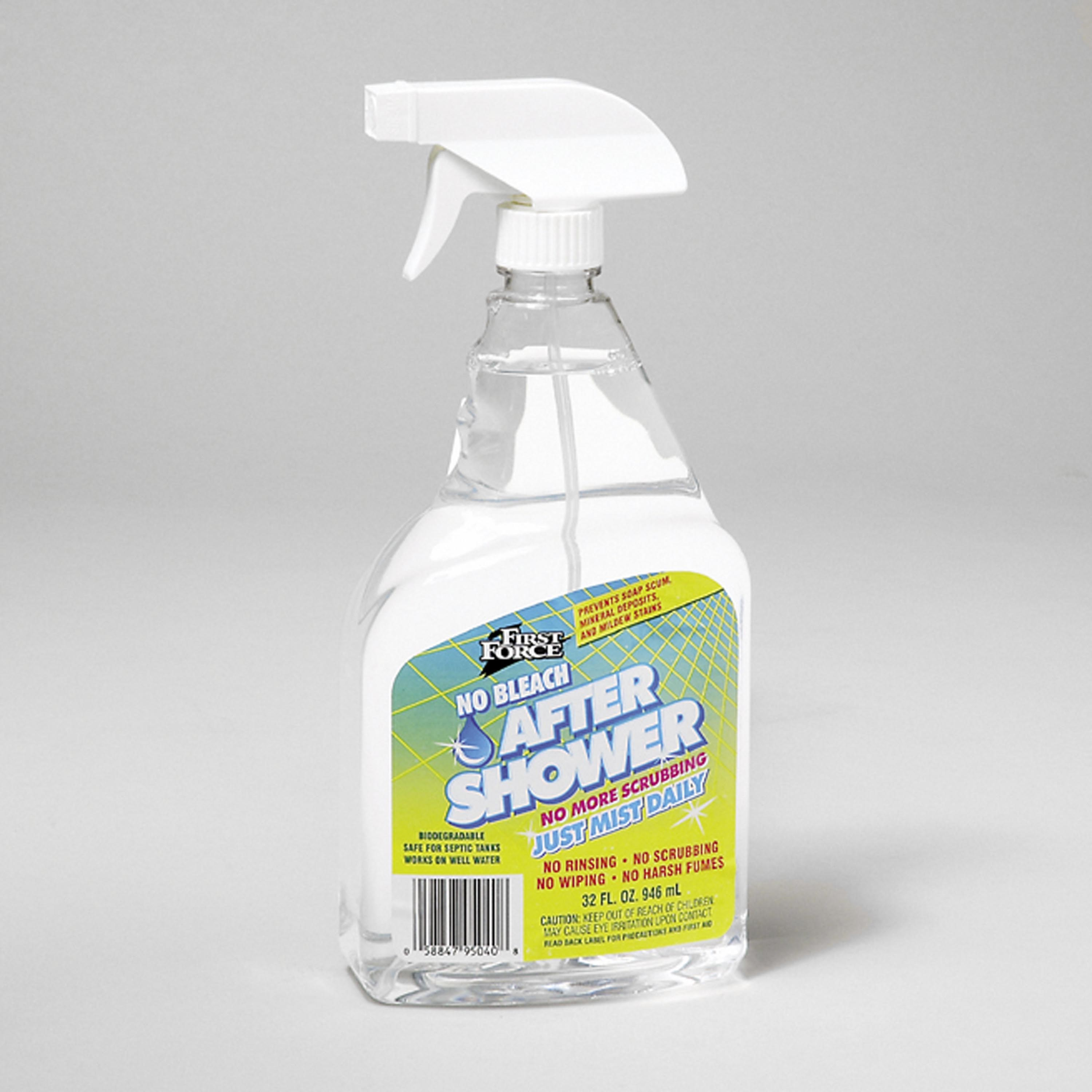 First Force After Shower Daily Shower Cleaner Spray, 32 Oz