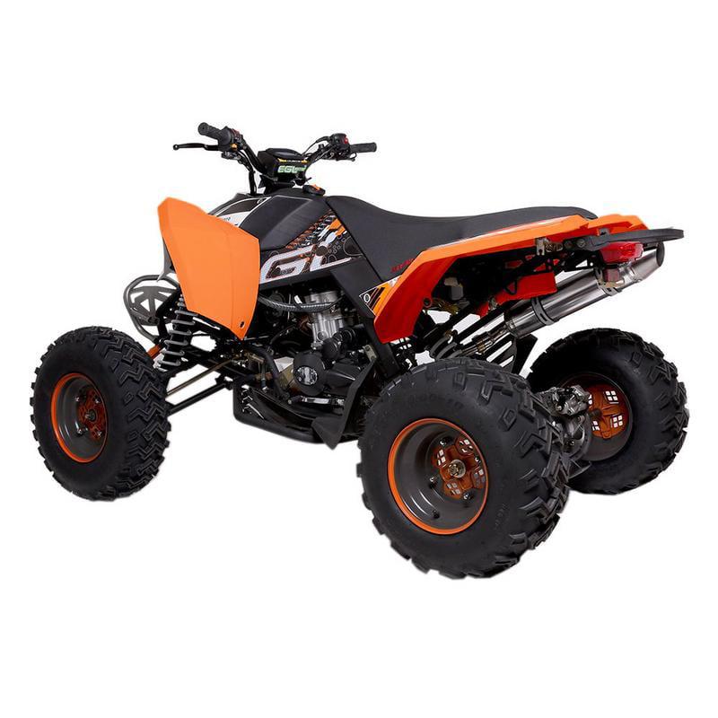 T4B MADMAX ADULT ATV 250cc Dirt Quad Recreational Outdoors, Off-Road, All Terrain, 4 stroke, single-cylinder, air-cooled - Black - image 3 de 7