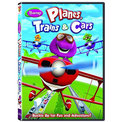 Barney: Planes, Trains & Cars (Full Frame)