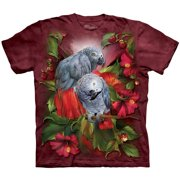 The Mountain Men's  African Gray Mates T-shirt Red