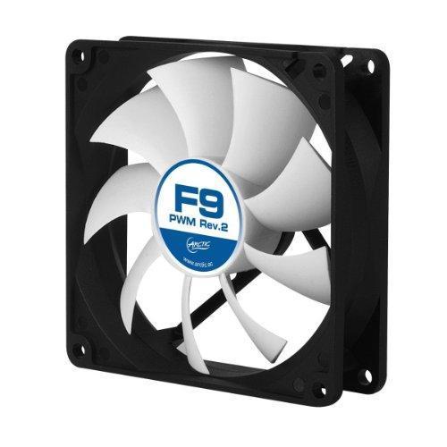 ARCTIC F9 PWM Rev. 2 Fluid Dynamic Bearing Case Fan, 92mm PWM Speed Control, 43CFM at 23.5dBA