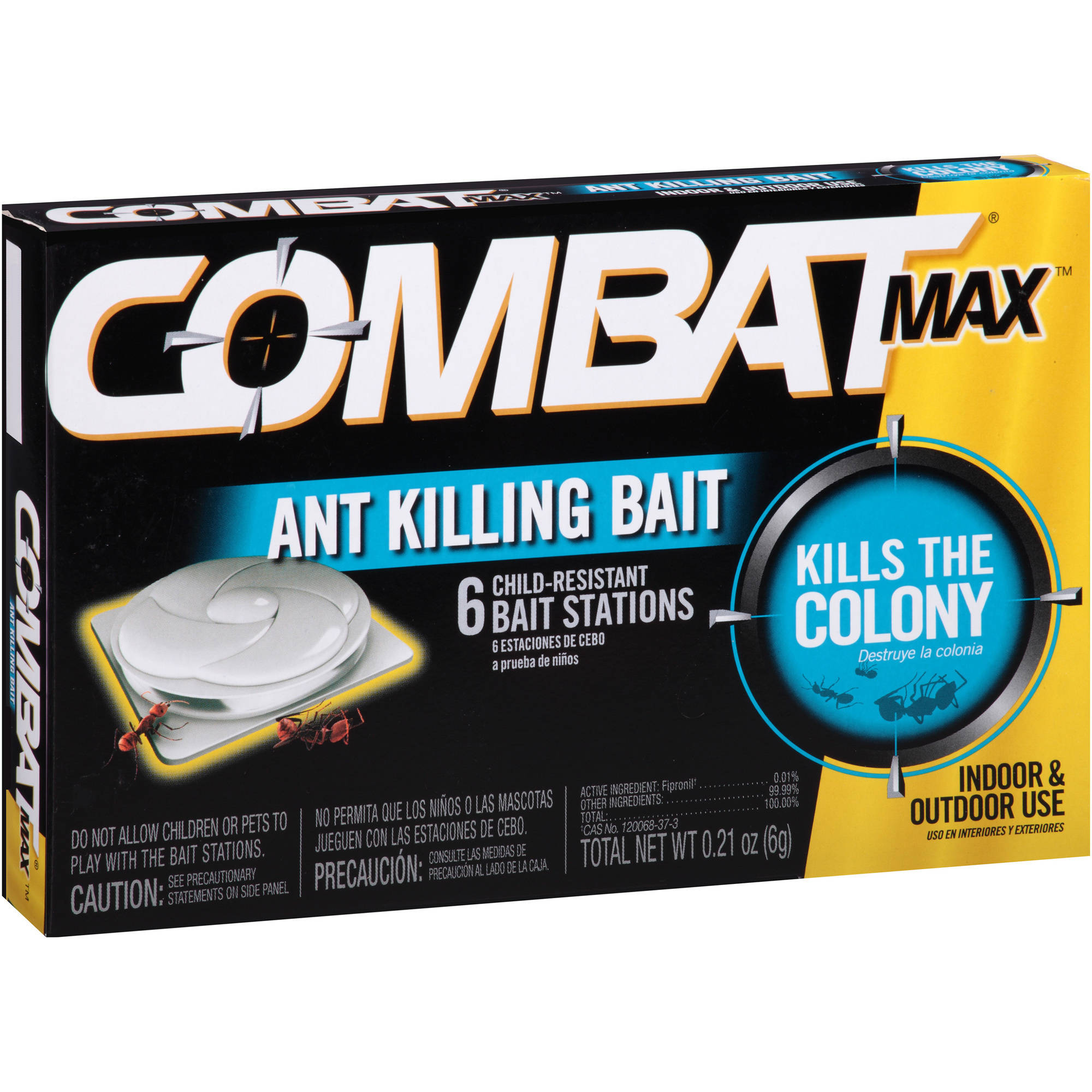 Combat Max Ant Killing Bait Stations, 6 count