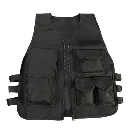 Yosoo Children Tactical Vest Nylon Shooting Hunting Molle Clothes CS Game Field Combat Training Protective