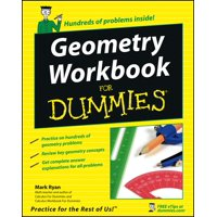 For Dummies: Geometry Workbook for Dummies (Paperback)