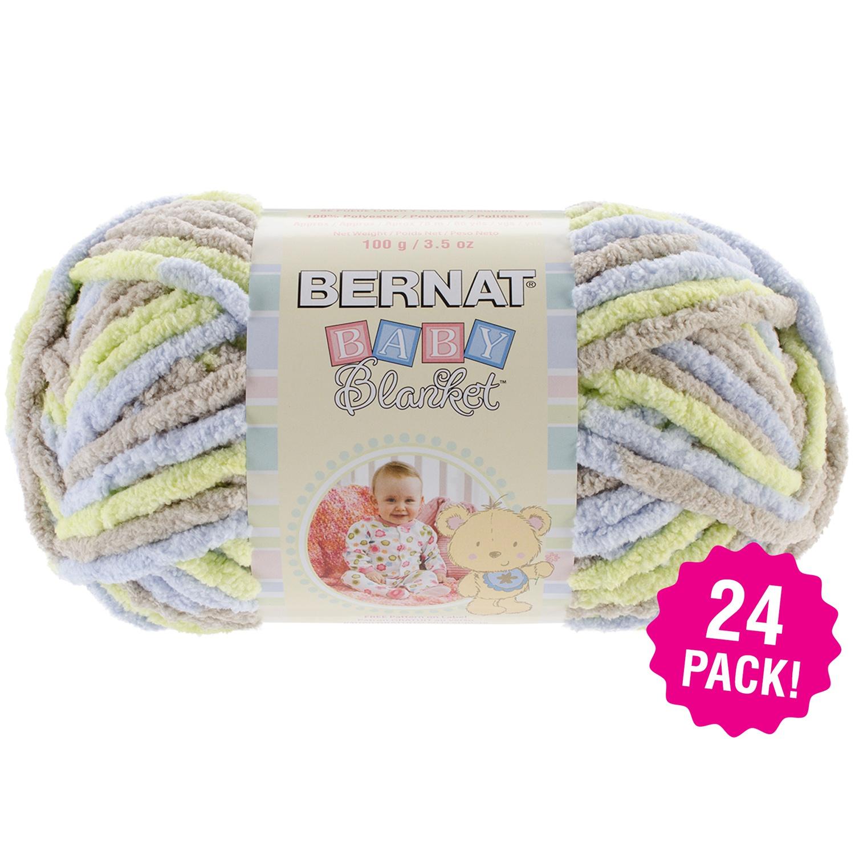 Bernat Baby Blanket Yarn - Little Boy Dove, Multipack of 24