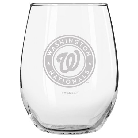 - Washington Nationals 15oz. Etched Stemless Glass Tumbler - No Size