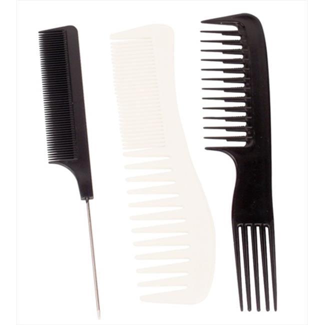 Vidal Sassoon Ionic Styling Comb Assortment Pack of 3