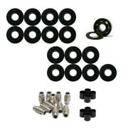 AMPHETAMINE Roller Hockey Bearings Inline Skate SPEED KIT Ceramic Hybrid