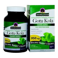 Nature's Answer Gotu Kola 90 Vegetarian Capsules