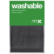 AIRx Filters Washable 16x25x1 Permanent Air Filter MERV 1 Heavy Duty Steel Mesh Filter Replacement to Replace Filtrete Basic Filter, 1-Pack
