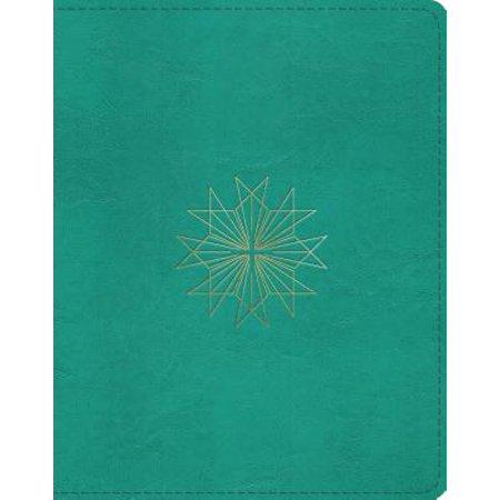Designs Journaling (ESV Single Column Journaling Bible (Trutone, Teal, Resplendent Cross)