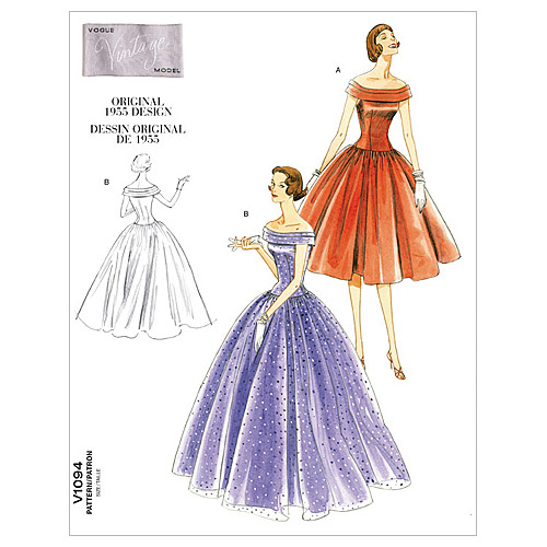 Misses' Dress-AA (6-8-10-12) -*SEWING PATTERN* - image 1 of 1