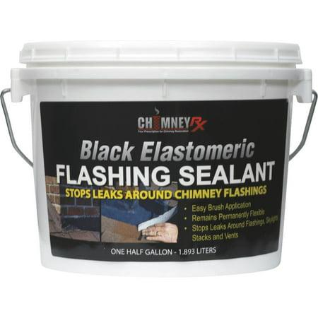 Chimney RX Black Elastomeric Flashing Sealant