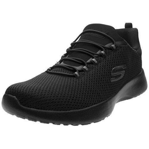 Skechers Men's Dynamight Low Top Shoes Black 13