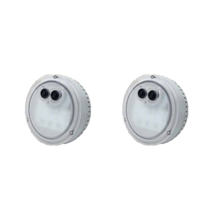 Intex PureSpa Multi-Colored LED Light for Bubble Spa Hot Tub Jacuzzi (2 Pack) - Jacuzzi Tub Pump