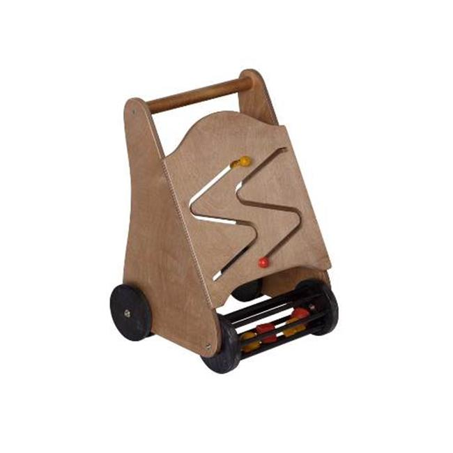 Lapps Toys & Furniture 202 Wooden Walker Toy with Black W...