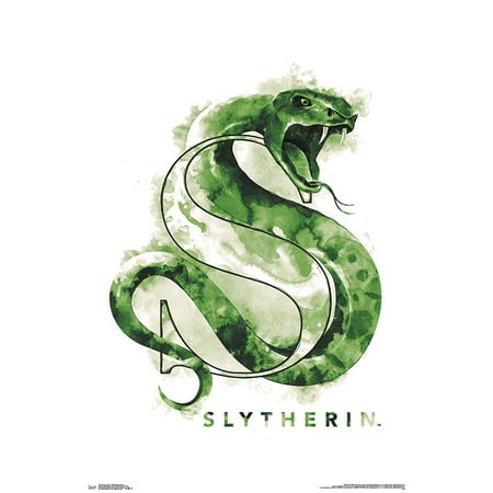 Harry Potter - Slytherin Illustrated