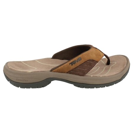 Men's Teva, Jetter Thong Sandal CIGAR 8 (M) U.S. Men's