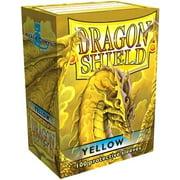 Card Supplies Dragon Shield Yellow Card Sleeves [100 ct]