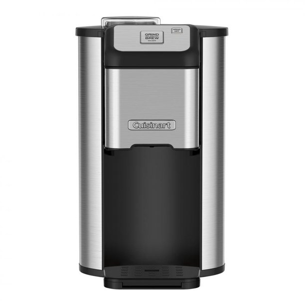 Cuisinart Single Cup Grind & Brew Coffeemaker with Automatic Blade Grinder, BONUS FREE Gold Tone Filter Included
