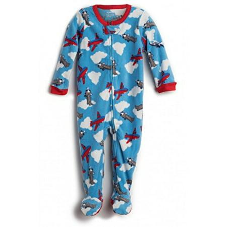 5435f7d96 Elowel Pajamas - Elowel Baby Girls Footed Airplane Pajama Sleeper ...