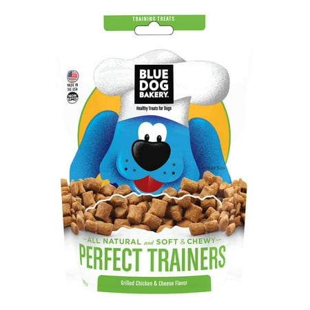 Healthy Kid Halloween Treats ((2 Pack) Blue Dog Bakery Healthy Treats for Dogs Perfect Trainers Grilled Chicken & Cheese Flavor, 6)