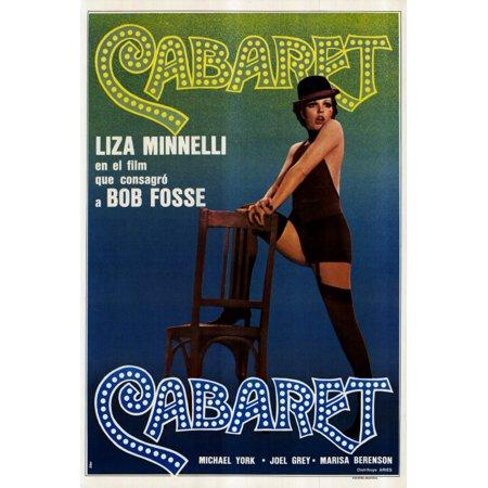 Cabaret  1972  27X40 Movie Poster  Argentine