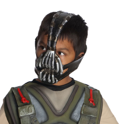 Bane 3/4 Child Mask Dark Knight Costume Accessory