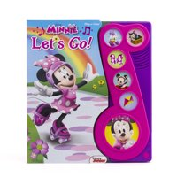 Play-A-Song: Disney Minnie: Let's Go! (Hardcover)