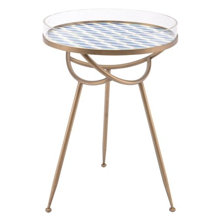 Modern Contemporary Round Sofa Accent Side End Table
