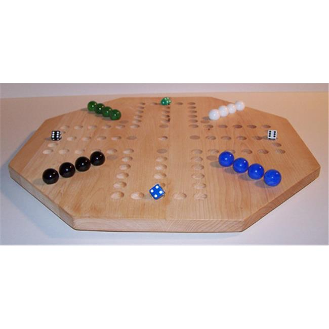 Charlies Woodshop W-1940alt.-2 Wooden Marble Game Board Hard Maple by Charlies Woodshop
