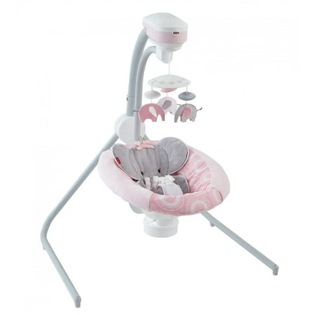 Fisher Price Cradle N Swing Blush Safari Walmart