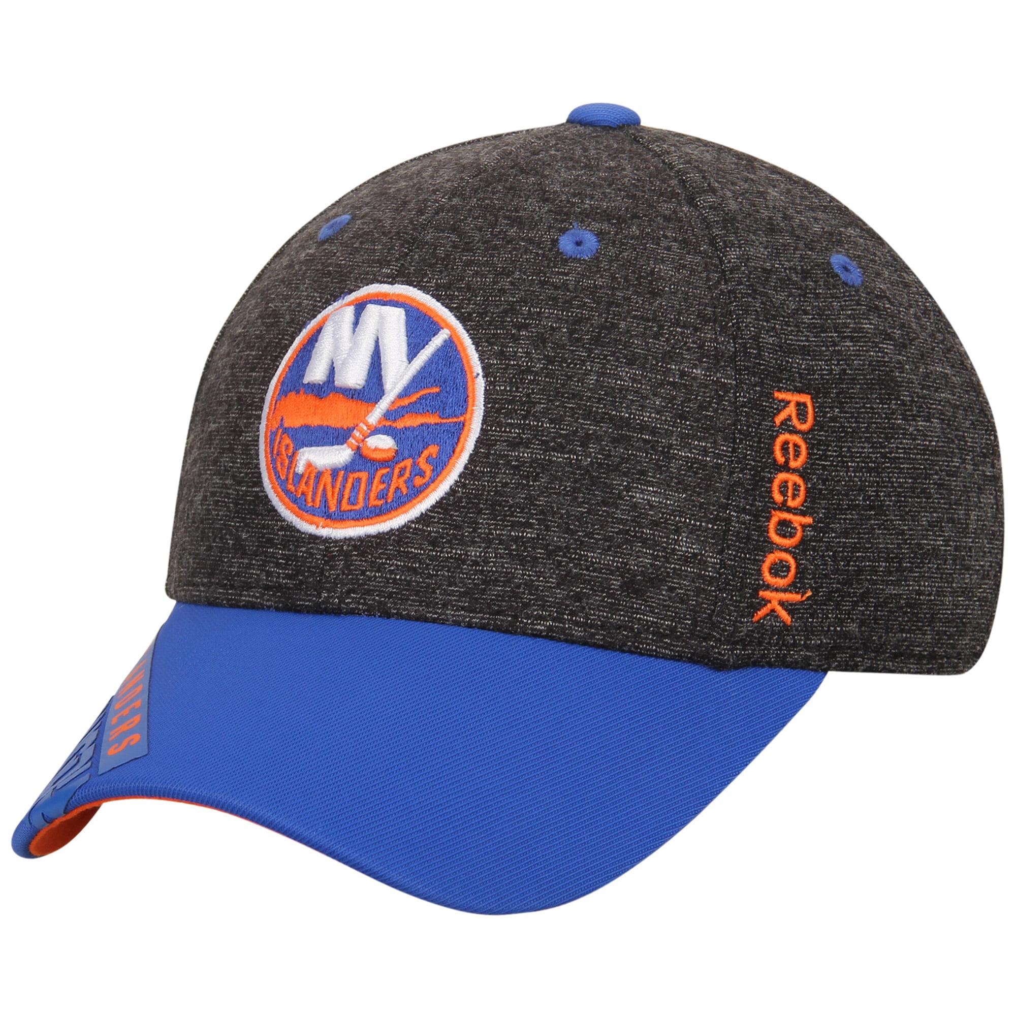 New York Islanders Reebok Youth Playoff Structured Flex Hat - Black - OSFA
