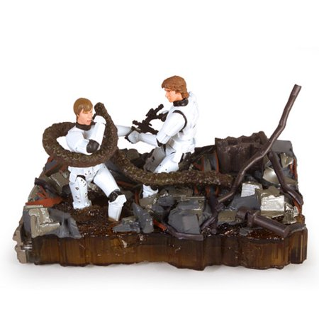 Luke Skywalker and Han Solo Death Star Trash Compactor