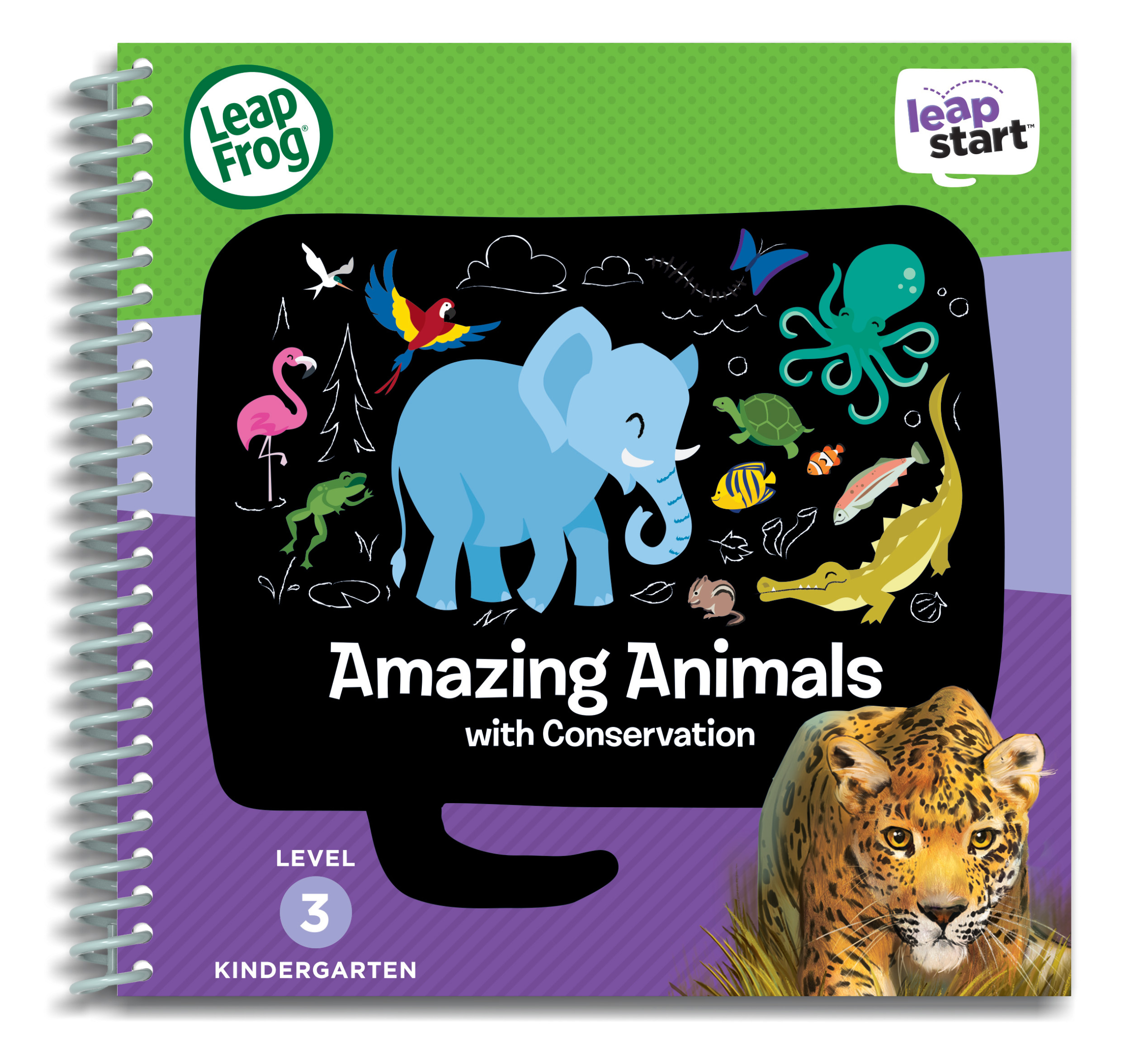 LeapFrog® LeapStart™ Kindergarten Animals Activity Book