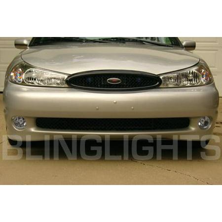 Fog Light Lamp Set - New 1995-2000 FORD CONTOUR FOG LIGHT SET lamp se svt 1996 1997 1998 1999