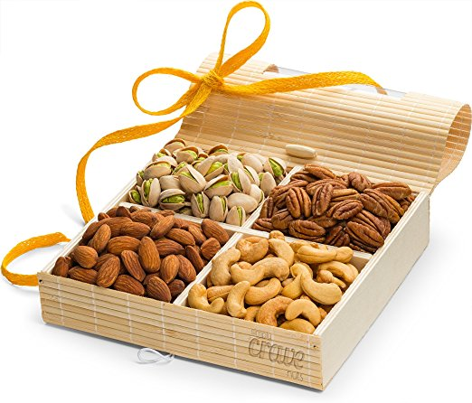Simply Crave Nut Gift Baskets Gourmet Food Gift Nuts Tray Gift Assortment Classic Unsalted (Large) - Walmart.com  sc 1 st  Walmart & Simply Crave Nut Gift Baskets Gourmet Food Gift Nuts Tray Gift ...
