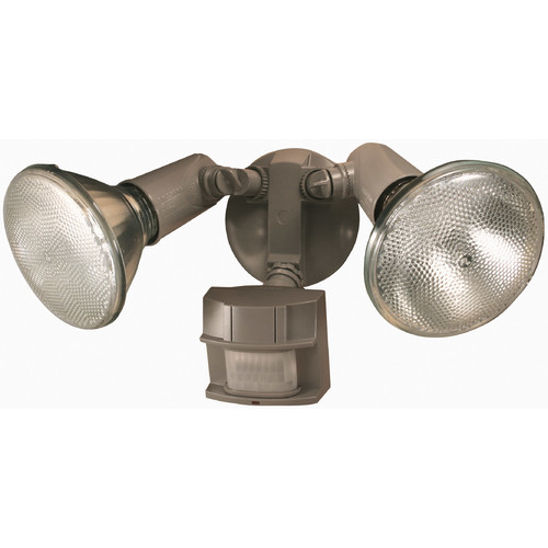 Heath Zenith 150 Degree Motion Sensing Security Light, Gray