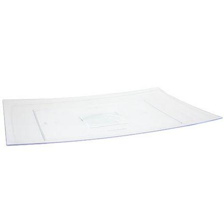 Lillian Caterware  Rectangular Tray  Clear  9 X 13   3 Ct