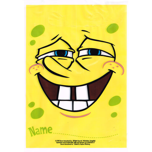 SpongeBob SquarePants Favor Bags (8ct)