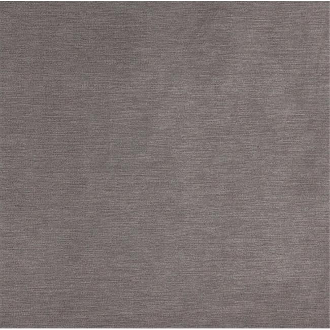 Designer Fabrics C172 54 in. Wide Grey Soft Luxurious Microfiber Velvet Upholstery Fabric