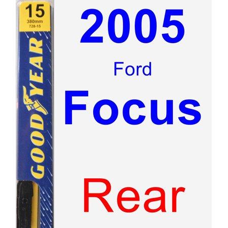 2005 Ford Focus Rear Wiper Blade - Premium (2005 Ford Escape Rear Wiper Blade Size)