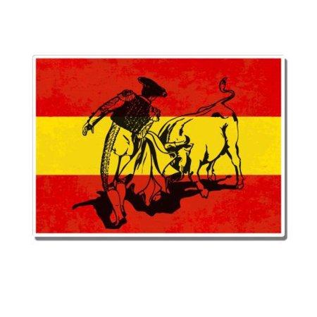 Bullfighter Matador - Vinyl Sticker Waterproof Decal Sticker - Bullfighter Hat