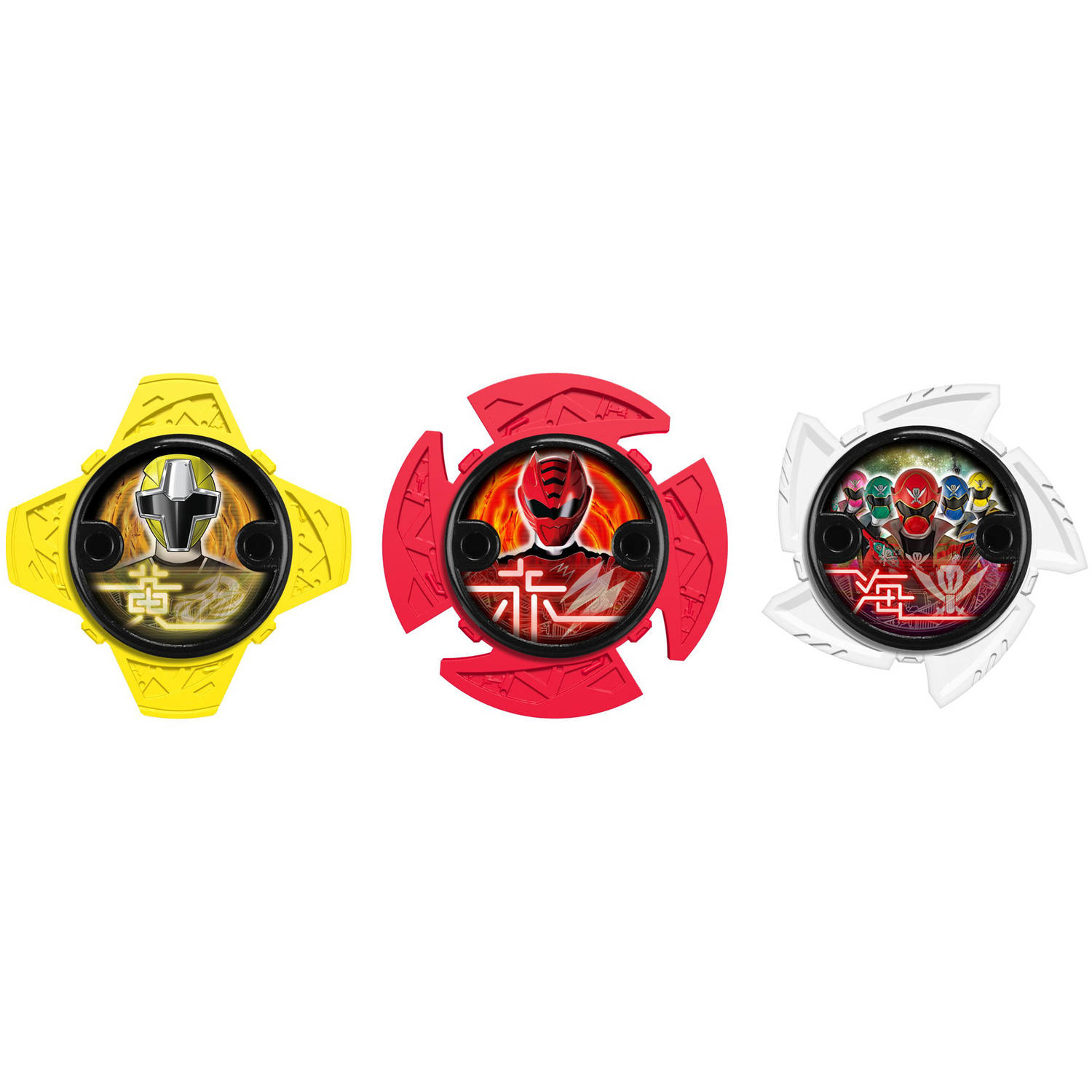 Power Rangers Ninja Steel Ninja Power Star Pack, 43754 by Bandai America, Inc
