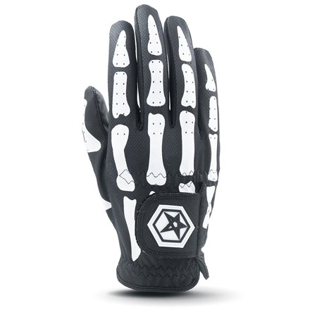 Men's Deathgrip Right Hand Glove, Black, XX-Large, New Cooltech Breathable Synthetic Leather By Asher
