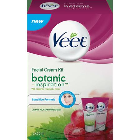 Veet 2-Step Crème visage cheveux