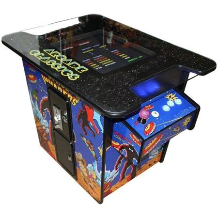 Cocktail Arcade Machine Video Game 22-Inch LCD with 60 Classic Games (Intec Video Game)
