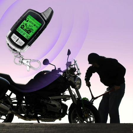 KapscoMoto 2 Way Motorcycle Alarm Pager Remote Engine Start For Can-Am Spyder Roadster RS RT Phantom - image 3 de 5